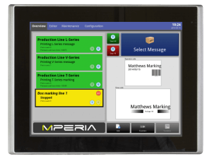 MPERIA Standard Controller - marking and coding automation platform software