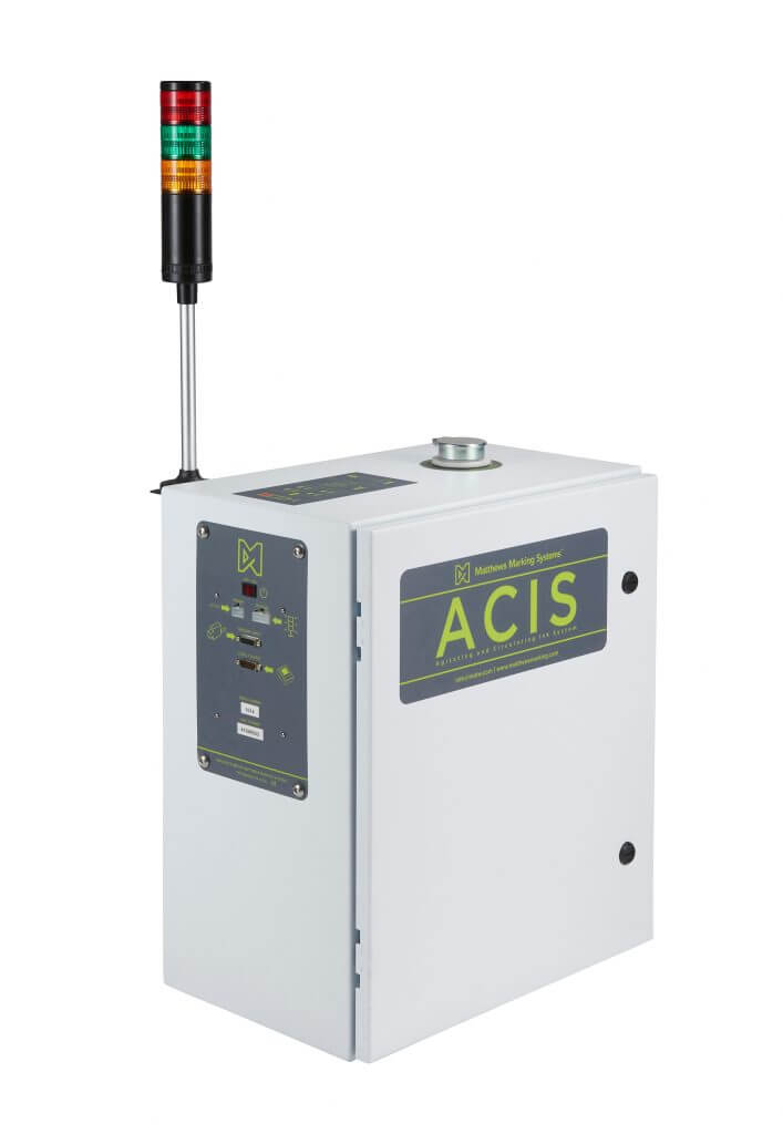 ACIS - tire tread uncured rubber marking and coding ink system