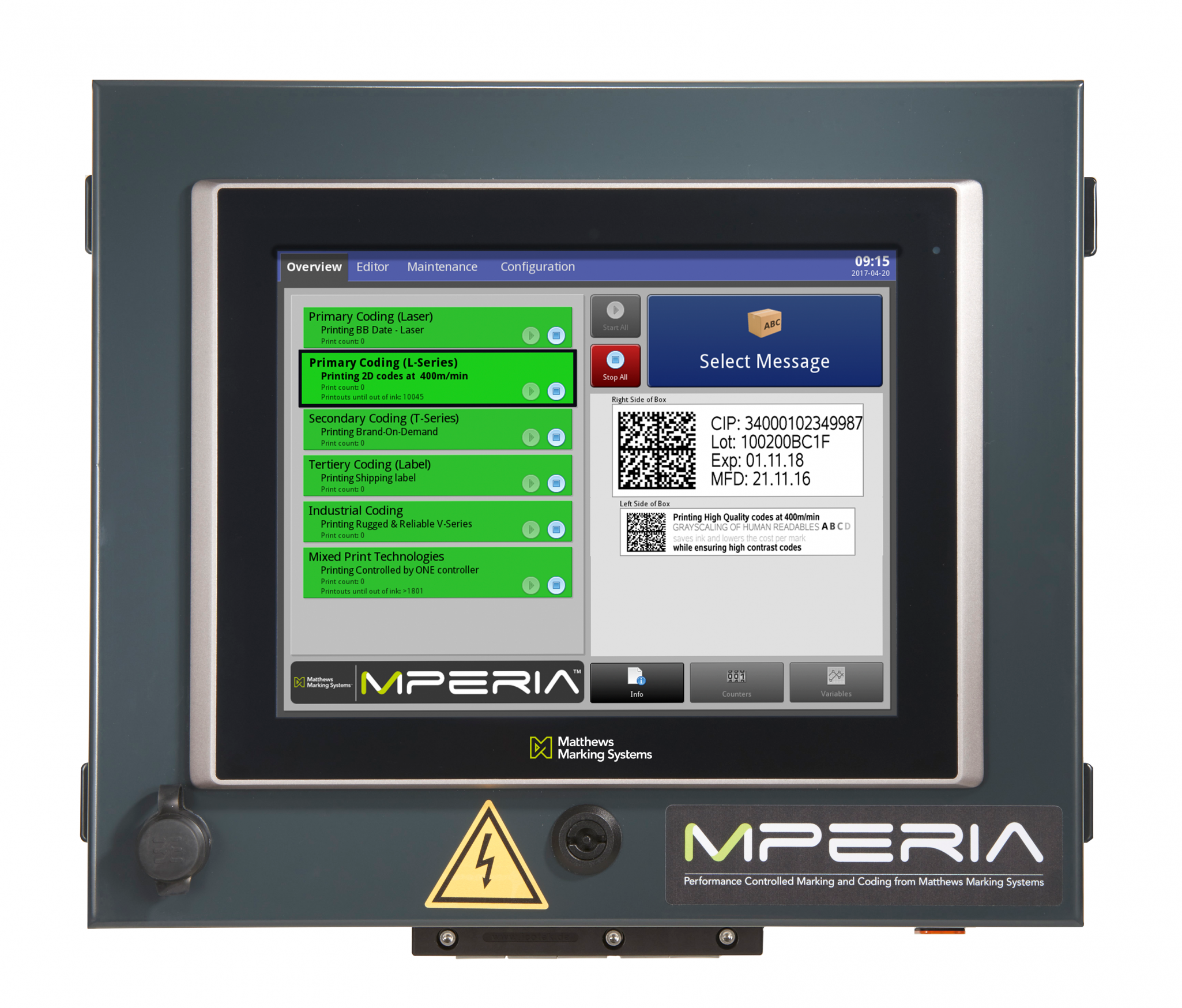 MPERIA® Touchscreen Controller
