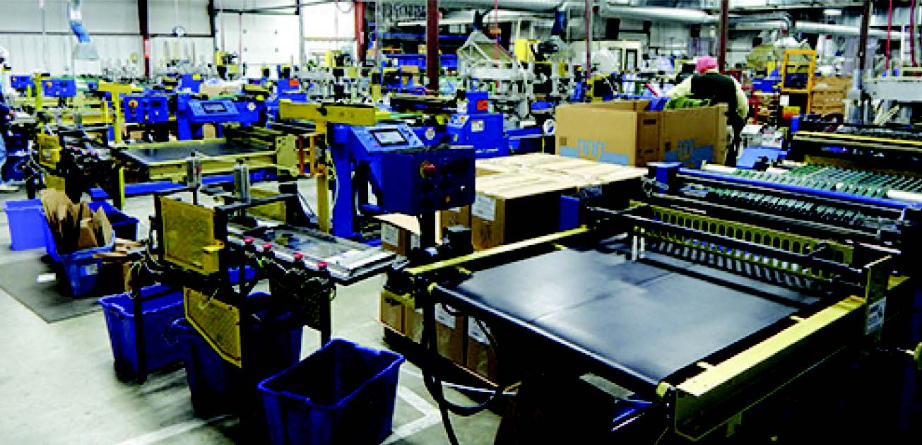 Bison Bag implemented Matthews' thermal inkjet printheads across all five production lines