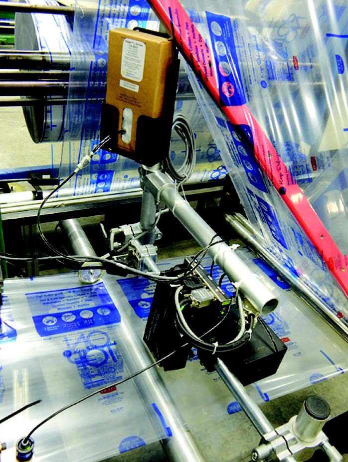 Matthews' MPERIA®-driven VIAjet™ L-Series TIJ system fed by the Active Bulk Ink Supply